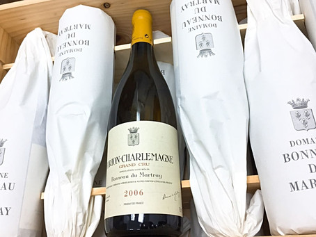 Scored Same as Coche Dury but Only 4% of Price, Martray Corton-Charlemagne 2006
