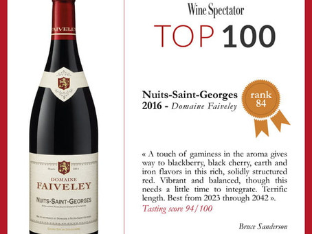 🧧CNY SALE #4: Wine Spectator Top 100 from Domaine Faiveley
