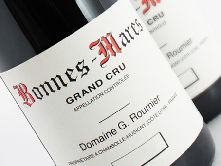 Georges Roumier 2017: Latest Releases from Chambolle-Musigny, Starting from HK$1,950/bt
