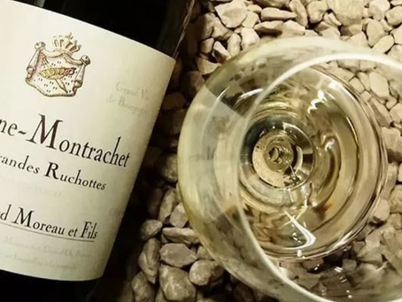 ❗Only 6 Bottles Available, Bernard Moreau Chassagne-Montrachet Grandes Ruchottes 1er Cru 2018