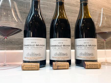 "🍷""Wines For Home"" #2 - Henri de Villamont Chambolle-Musigny 1er Cru Tasting Pack, Average HK$450/Bt"