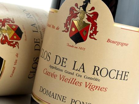 Ponsot Clos de la Roche 1998 at HK$2,890/Bt, 94pts Steen Öhman