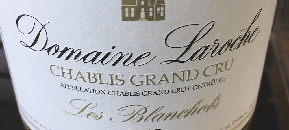 Domaine Laroche Chablis Grand Cru Les Blanchots 2014