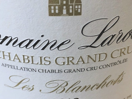 Highly recommended - Domaine Laroche Chablis Grand Cru 2014