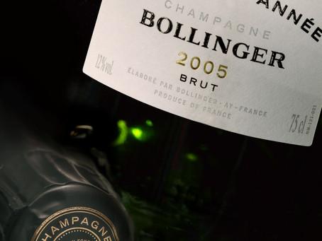 Only HK$650/bt, 94pts WS Bollinger La Grande Année 2005