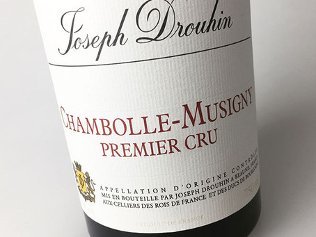 "Best Price in Town, Joseph Drouhin Chambolle-Musigny 1er Cru 2015, ""A Clearly Outstanding Young"