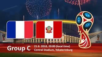 ⚽World Cup Fun Round #2: TONIGHT! France vs Peru