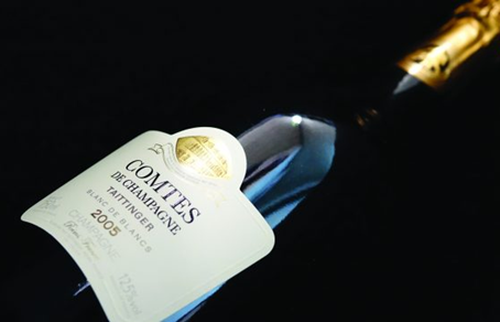 Special Offer from Only HK$680/Bt+! 97pts Taittinger Comtes de Champagne 2005