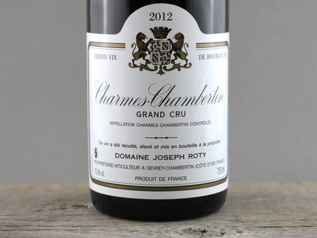 In Stock! Selection of Joseph Roty Gevrey-Chambertin and Charmes-Chambertin
