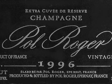 Limited Offer: Pol Roger Brut Vintage 1996 at Only HK$1,100/bt!