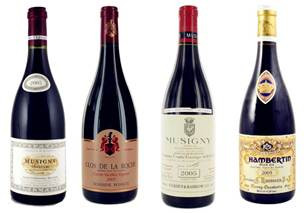 All 99pts from Allen Meadows! - Burgundy Cave's four picks out of seven from 2000-2005