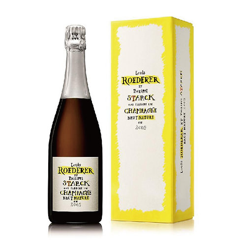 Philippe Starck Brut Nature Millesime (Gift-box) 2012 | Louis Roederer (1*75cl)