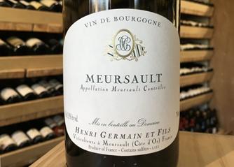 """Too Good To Ignore"" Allen Meadows, Henri Germain Meursault 2018 at HK$350 Per Bottle"