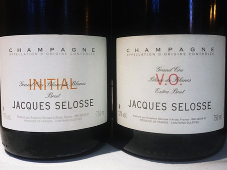 """Jacques Selosse Initial, VO, Substance - """"among the most coveted bottles in Champagne""""- Ga"""