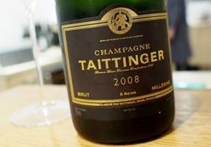 "Below market price - 97pts WE Taittinger Millesime 2008 - ""crisp, rich, ready to drink"""