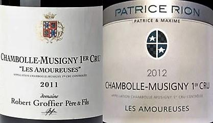 """Les Amoureuses"" Parcel, Average HK$1,880/bt Only - Robert Groffier and Patrice Rion"
