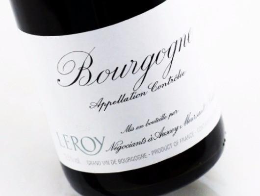 Leroy Bourgogne label