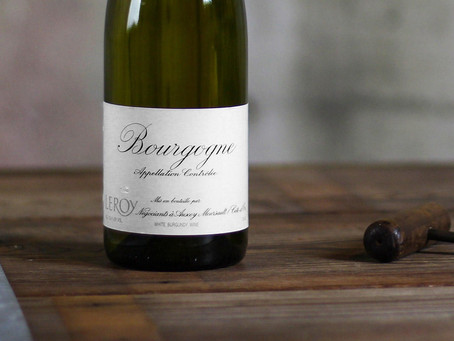 Get a Taste of Leroy's Excellence: Leroy Bourgogne Rouge 2015 and Bourgogne Blanc 2016