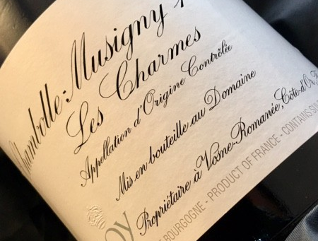 """Two """"Perfect"""" Wines from Leroy & Leflaive! Leroy Chambolle Musigny Les Charmes 2009 &a"""