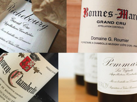 More Added! A serious selection of top Burgundy domaines - Armand Rousseau, Leroy and George Roumier