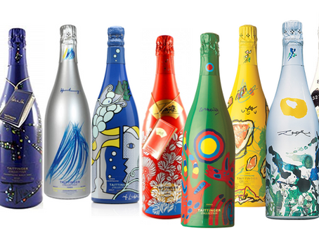 For Art & Champagne Lovers: A Complete Parcel of Taittinger Collection from 1978 to 2008