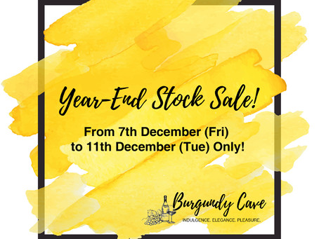 Burgundy Cave Year-End Stock Sale! Over 80 Lines incl. Leroy, Salon, Krug, Armand Rousseau, Leflaive