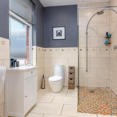 Modern stylish shower room
