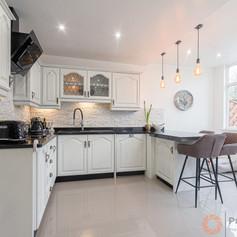 Sleek kitchen design photograph