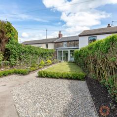 A low maintenance rear garden in Blackburn