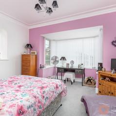 Light third bedroom