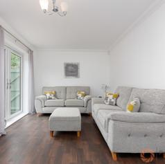 Modern stylish lounge