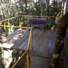 varanda dos quartos exterior da casa