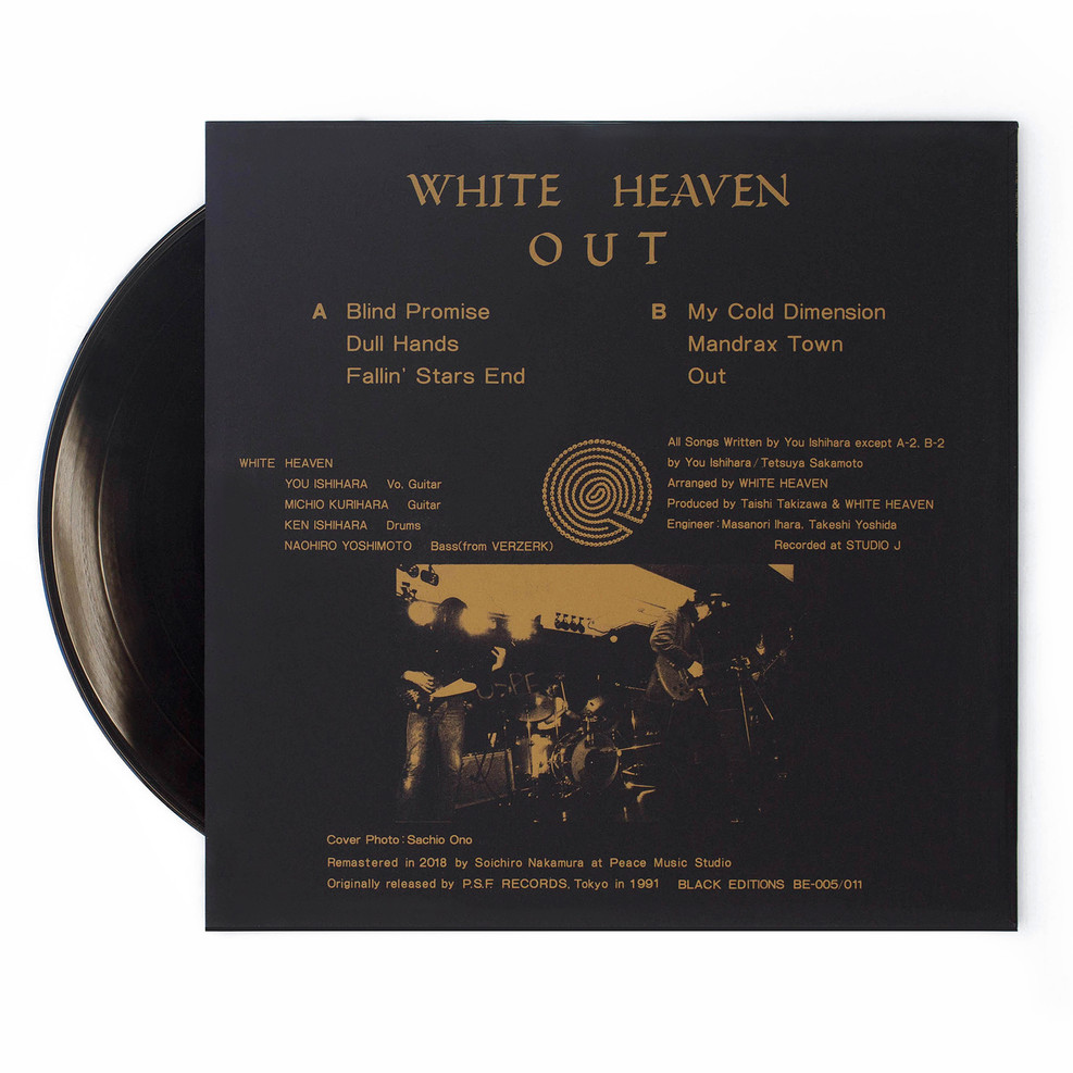 White Heaven Out PSF Black Editions Web
