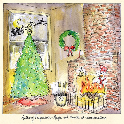 Anthony Pasquarosa — Magic and Warmth at Christmastime LP