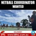 Netball Coordinator