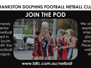 NETBALL EXPRESSIONS OF INTEREST