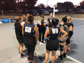 NETBALLERS HIT THE COURT