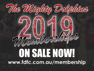 2019 MEMBERSHIPS ON SALE