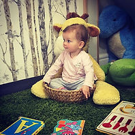 Baby in a basket!! 🎉 🤗 #baby #toddler