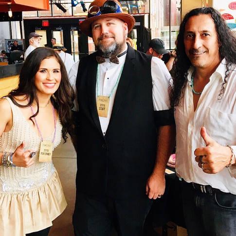 Serene Salinas, Mick Collins, Coco Salinas