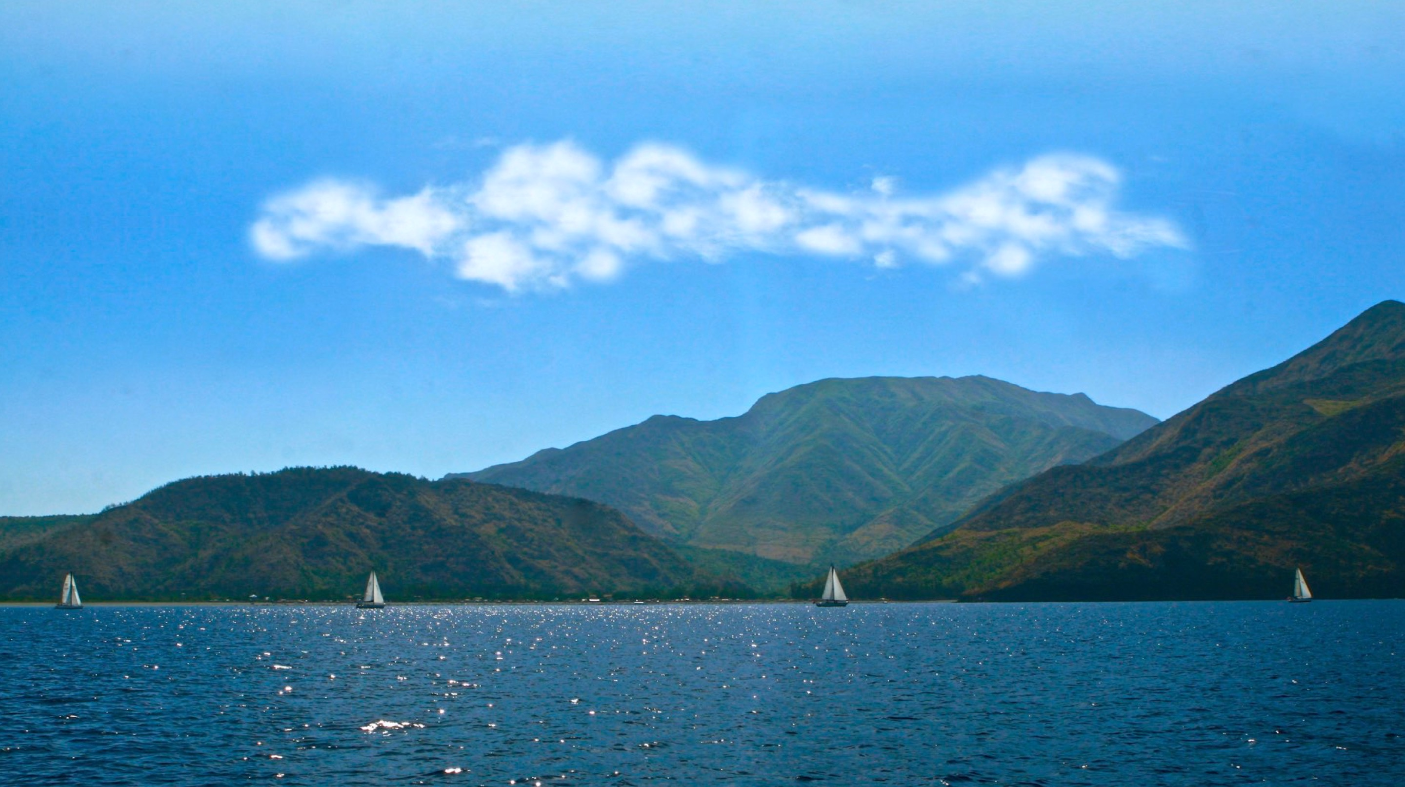 The coastline of Zambales and Bataan in the Philippines are rugged