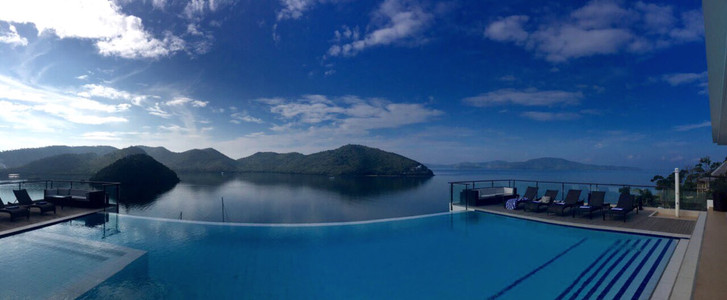 View from Busuanga Bay Lodge