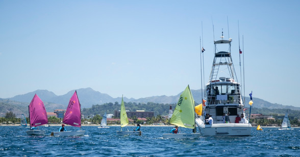 Spectator boats werre provide by Subic Sailing Club, Broadwater Marine and Standard Insurance