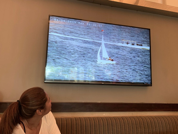 The organizers used high-resolution video cameras by HikVision to transmit the action live in all the video monitors around the resort including all guest rooms.