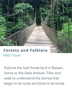 Explore the lush forest land in Bataan, home to the Aeta Ambala Tribe and seek to understand the stories that begin in its roots and blow in its winds.