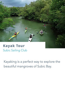 Experience the traditional way of sailing around the bay on board these double outrigger sailboats that are native to the southern region of the Philippines.