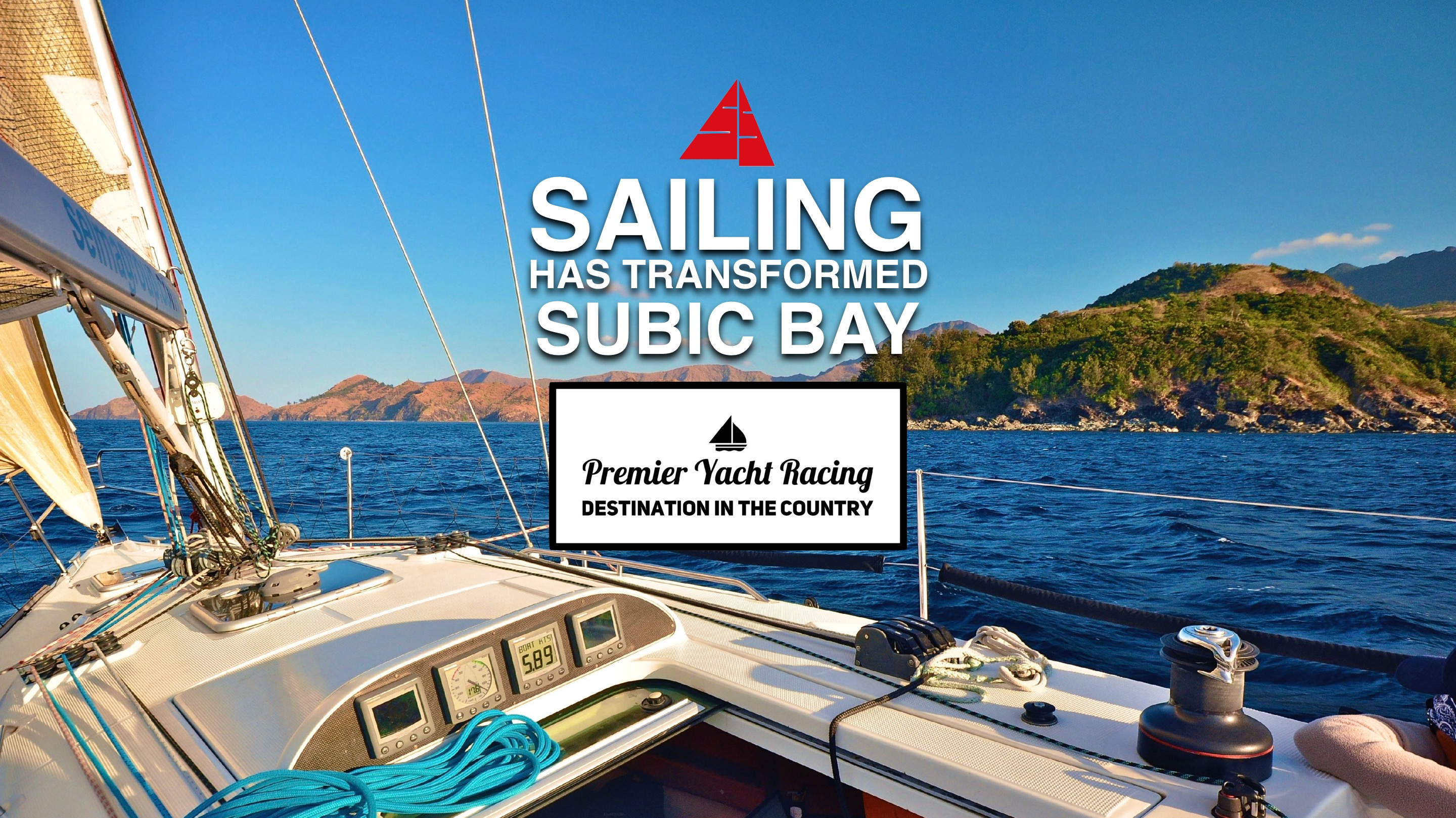 Subic Bay is the premier yachting and boating destination in the country.