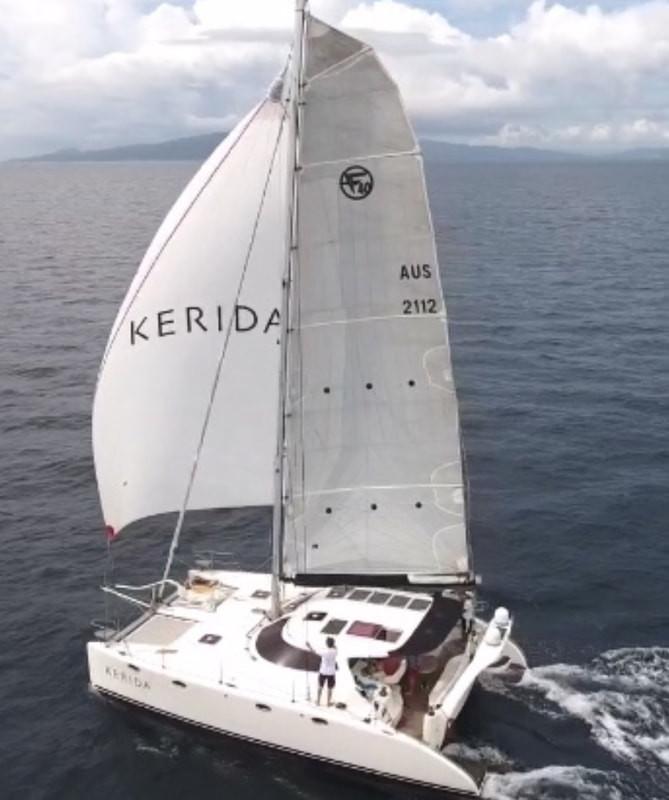 Ocean Multihull Class  Kerida - Fusion 40 with Skipper/Owner Garry Kingshott