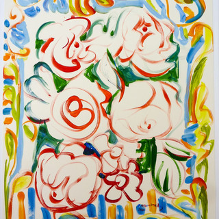 Acrylique marouflé sur toile _ 60x80