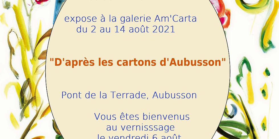 """Exposition """"D'après les cartons d'Aubusson"""""""